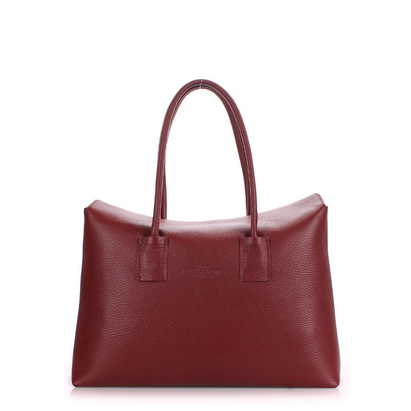 585260dc1063 Женская кожаная сумка POOLPARTY sense-marsala марсала купить от ...